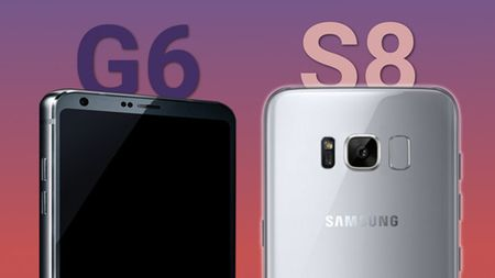 Samsung Galaxy S8 vs LG G6: Cuoc doi dau thu vi - Anh 1