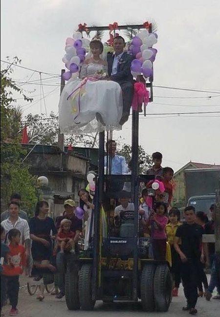 Don dau bang xe nang hang, cap doi lieu nhat 'Vinh Bac Bo' - Anh 2