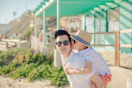 Quang Dung viet tam thu cho con trai, Jennifer Pham co chanh long? - Anh 2