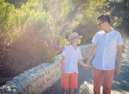 Quang Dung viet tam thu cho con trai, Jennifer Pham co chanh long? - Anh 3