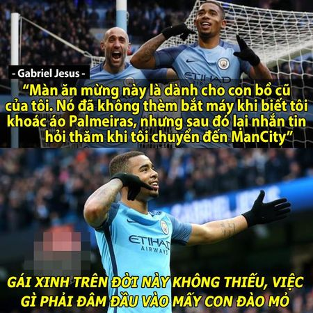 Anh che: 'Dai ngan ha' Real chot lich da giao huu voi DTVN; 'Can loi' truoc kieu an mung 'chat choi' cua Gabriel Jesus - Anh 2