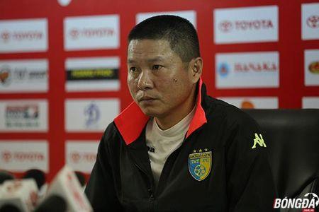 Mat Hoang Vu Samson, HLV Ha Noi FC van tu tin danh bai Da Nang - Anh 1