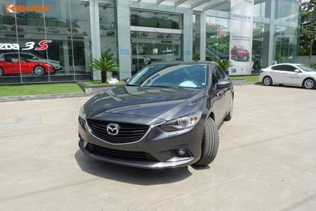 Mazda6 doi 2016 giam gia 140 trieu dong tai Viet Nam - Anh 1