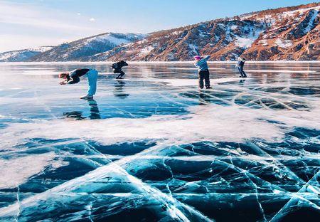 Canh sac dep hut hon o ho Baikal dong bang - Anh 13