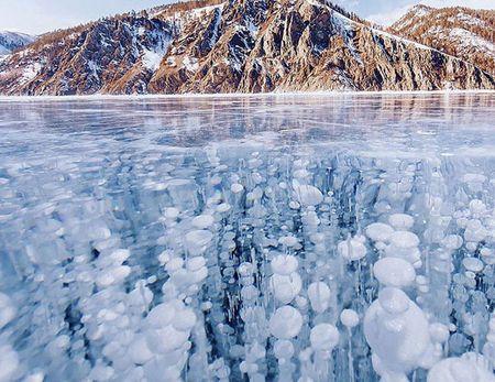 Canh sac dep hut hon o ho Baikal dong bang - Anh 1
