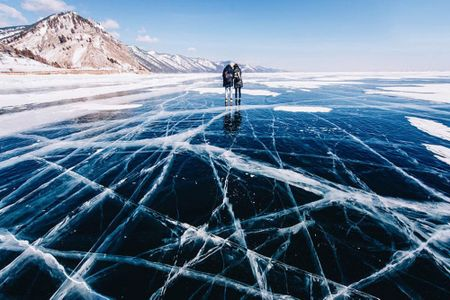 Canh sac dep hut hon o ho Baikal dong bang - Anh 5