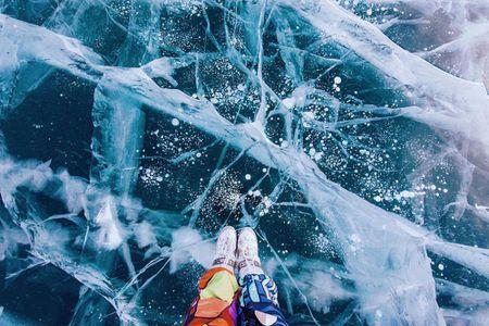Canh sac dep hut hon o ho Baikal dong bang - Anh 9