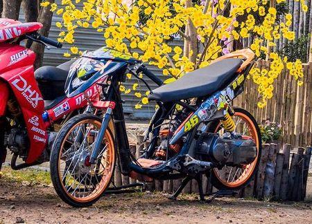 Dan choi Viet do Yamaha Luvias thanh 'xe dau' drag khung - Anh 3