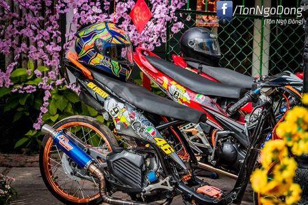 Dan choi Viet do Yamaha Luvias thanh 'xe dau' drag khung - Anh 4