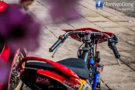 Dan choi Viet do Yamaha Luvias thanh 'xe dau' drag khung - Anh 5