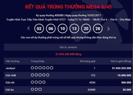 Vua trao 3 giai, Jackpot lai 'no' 31 ty dong - Anh 1