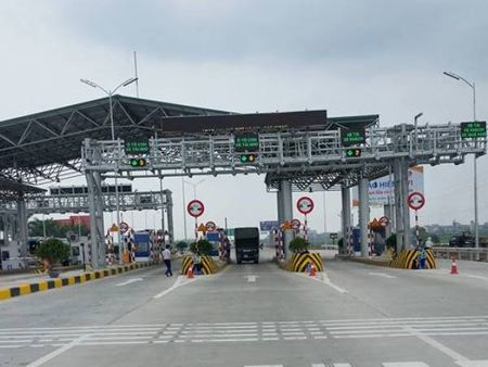 So lieu 'ao' tai tram thu phi BOT Ha Noi - Bac Giang - Anh 1
