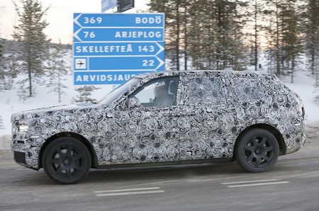 Me man voi hinh anh that cua chiec Rolls-Royce Cullinan SUV 2018 - Anh 4