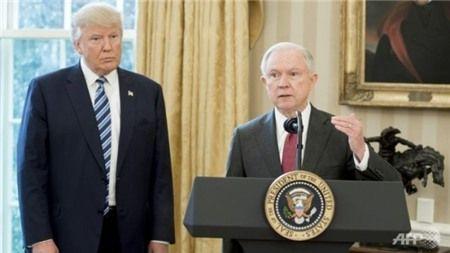 Ong Trump tuyen bo ky nguyen moi cua cong ly - Anh 1
