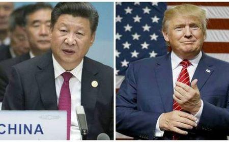 Tan Tong thong My Donald Trump lan dau tien dien dam voi Chu tich Trung Quoc - Anh 1