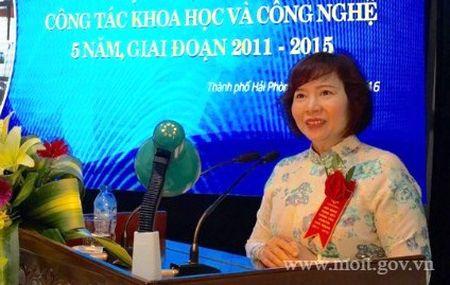 Co phan cua ba Ho Thi Kim Thoa tai Dien Quang co tu truoc khi lam Thu truong - Anh 1