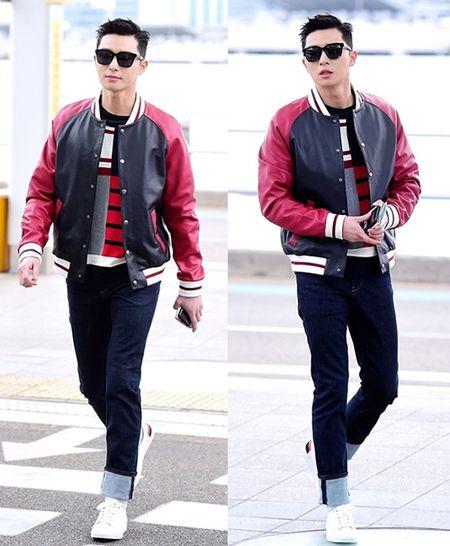 Red Velvet sang chanh, Lee Sung Kyung chon style hien dai o san bay - Anh 11