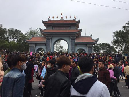 Ghe ve Bac Ninh tham gia le hoi Lim dac sac - Anh 1