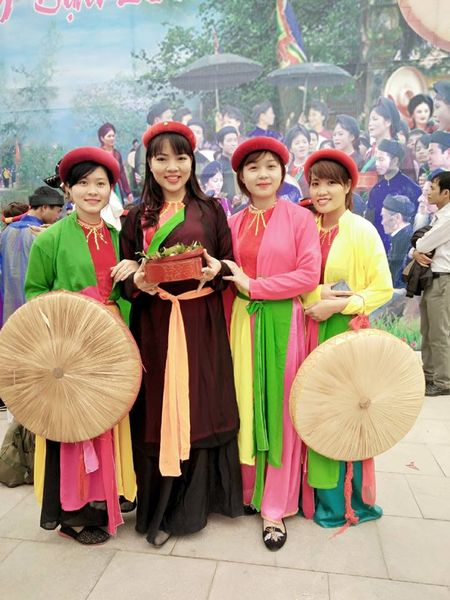 Ghe ve Bac Ninh tham gia le hoi Lim dac sac - Anh 4