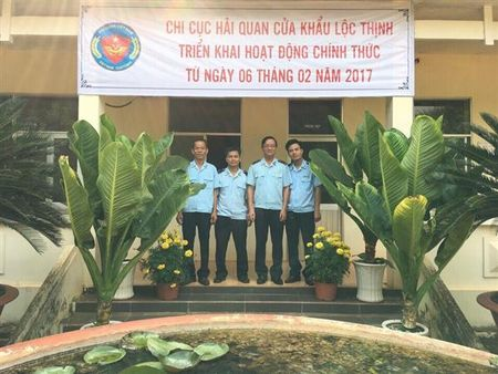 Binh Phuoc: Chi cuc Hai quan cua khau Loc Thinh di vao hoat dong - Anh 1