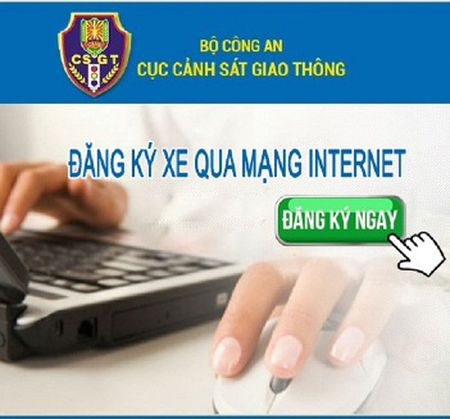 Trien khai 13 dich vu dang ky phuong tien qua mang Internet - Anh 1