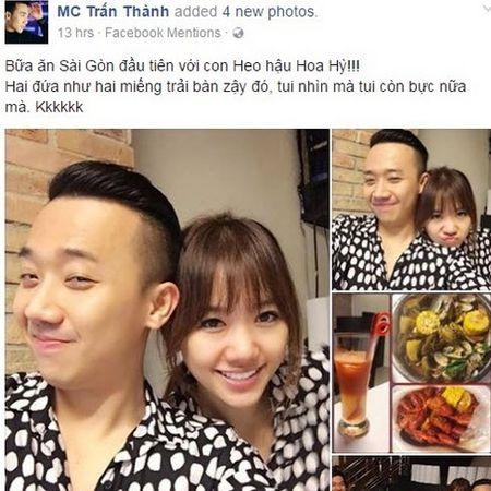Thu nhap tien ti, Hari Won - Tran Thanh lai mat mat vi tien le - Anh 3