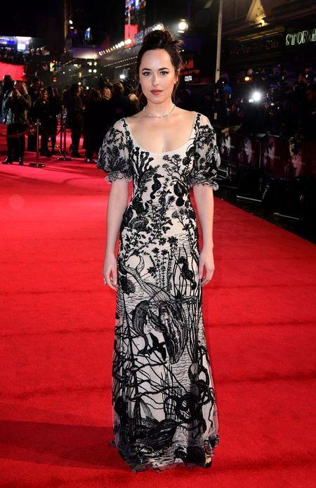 Ngoi sao '50 sac thai' Dakota Johnson bi che kem xinh va gia coi trong buoi ra mat phim - Anh 2