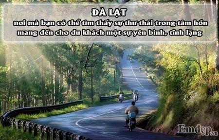 4 diem den o Viet Nam du doan se 'len ngoi' trong nam 2017 - Anh 1