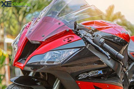 Giap mat Kawasaki ZX10R mau hiem tai Sai Thanh - Anh 13