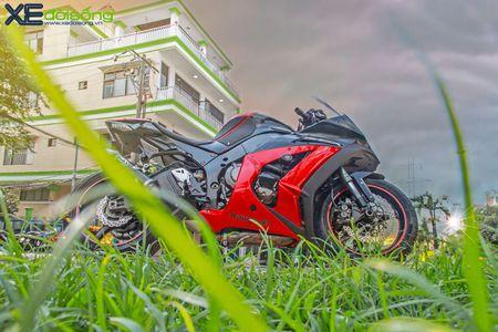 Giap mat Kawasaki ZX10R mau hiem tai Sai Thanh - Anh 1