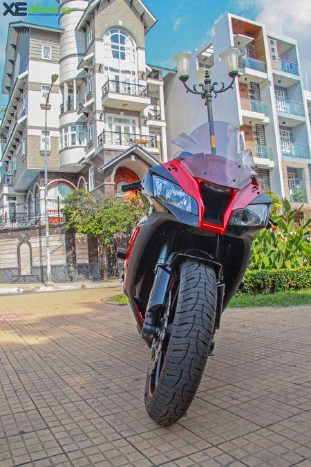 Giap mat Kawasaki ZX10R mau hiem tai Sai Thanh - Anh 3