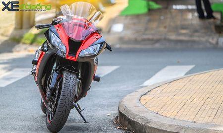 Giap mat Kawasaki ZX10R mau hiem tai Sai Thanh - Anh 7
