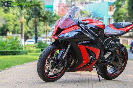 Giap mat Kawasaki ZX10R mau hiem tai Sai Thanh - Anh 8