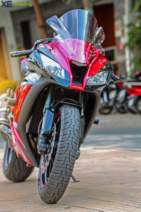 Giap mat Kawasaki ZX10R mau hiem tai Sai Thanh - Anh 9