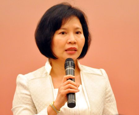 Bo Cong Thuong: Ba Ho Thi Kim Thoa 'co ke khai co phan tai Bong den Dien Quang' - Anh 1