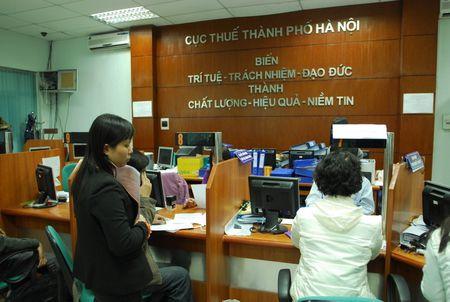 Ha Noi tiep tuc cong khai 134 don vi no thue, phi, tien thue dat - Anh 1