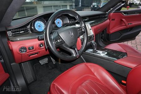 Maserati Quattroporte: Sedan the thao hang sang cho nguoi me toc do - Anh 12