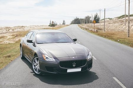 Maserati Quattroporte: Sedan the thao hang sang cho nguoi me toc do - Anh 4