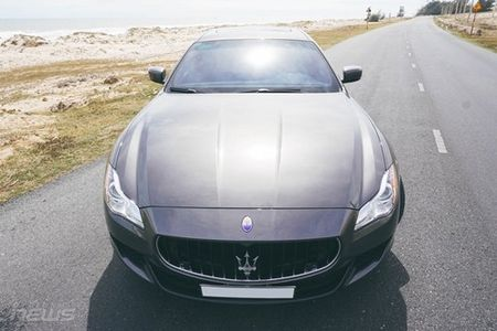 Maserati Quattroporte: Sedan the thao hang sang cho nguoi me toc do - Anh 6