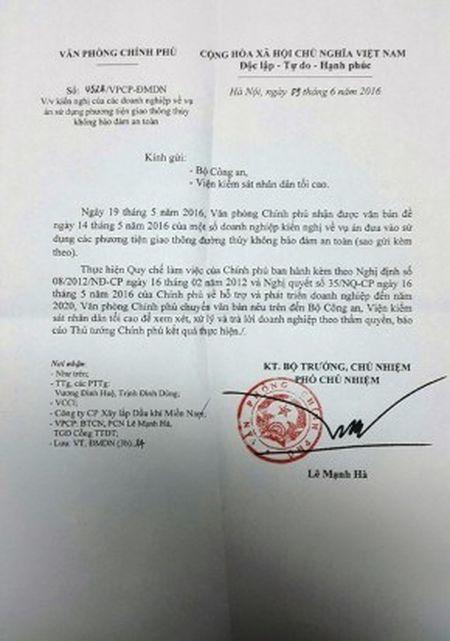 Vien Kiem sat ND toi cao yeu cau bao cao vu an duoc Bao Lao Dong neu - Anh 3