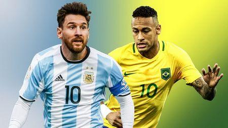 Messi chuan bi doi dau Neymar trong tran dai chien tren dat Uc - Anh 1