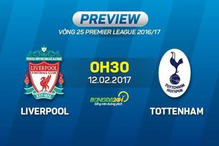 Truoc vong 25 Premier League: Liverpool dai chien Tottenham - Anh 1
