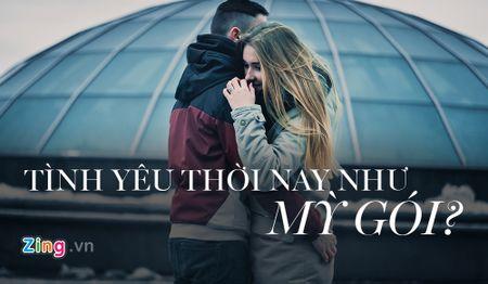 'Tinh yeu thoi nay nhu my goi, up vai phut la an' - Anh 1