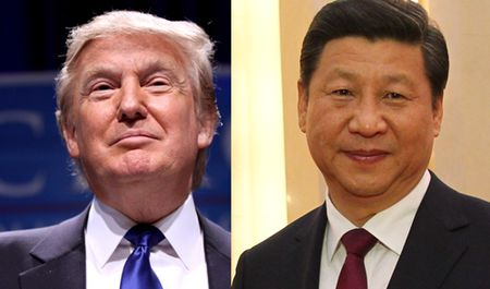 Ong Trump dien dam voi ong Tap, ung ho 'Mot Trung Quoc' - Anh 1