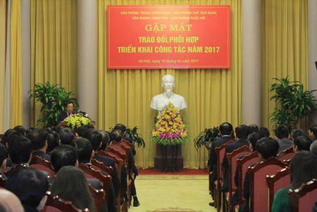 Chu tich nuoc Tran Dai Quang du buoi gap mat truyen thong 4 Van phong - Anh 2