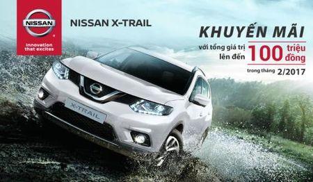 Nissan Viet Nam uu dai gia ban X-Trail den 100 trieu dong - Anh 1