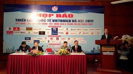 Trien lam Vietbuild Ha Noi se thu hut 1.700 gian hang - Anh 1