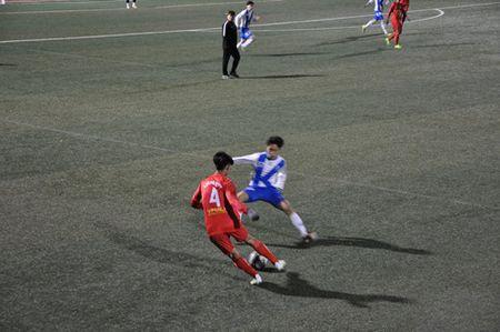 U17 HAGL danh bai U19 Uijeongbu gianh thang loi thu 2 tai Han Quoc - Anh 1