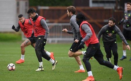 Chum anh: Dan sao Chelsea 'luyen cong' va mo hoi cho dai chien Man Utd - Anh 6