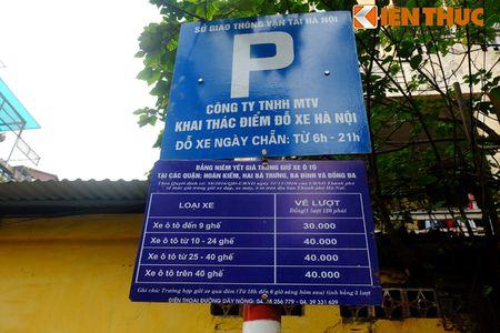 Duong pho Ha Noi thoang dang trong ngay do xe chan le - Anh 4